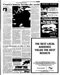 Syracuse Post Standard, March 18, 2005, Page 27