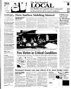 Syracuse Post Standard, March 18, 2005, Page 15