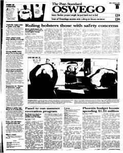 Syracuse Post Standard, March 18, 2005, Page 107