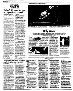 Syracuse Post Standard, March 19, 2005, p. 12