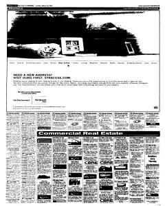 Syracuse Post Standard, March 20, 2005, Page 107