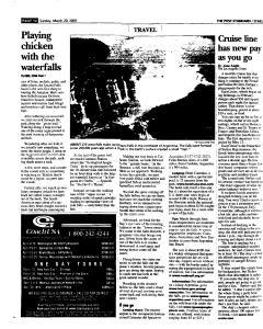 Syracuse Post Standard, March 20, 2005, Page 127