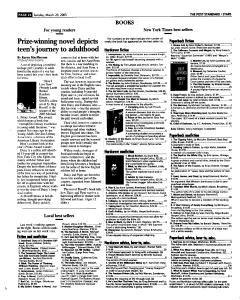 Syracuse Post Standard, March 20, 2005, Page 139