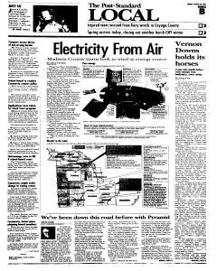 Syracuse Post Standard, March 20, 2005, Page 260