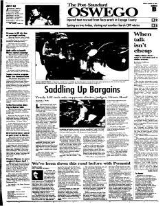 Syracuse Post Standard, March 20, 2005, Page 320