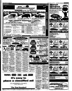 Syracuse Post Standard, March 20, 2005, Page 84