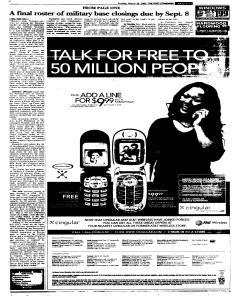 Syracuse Post Standard, March 20, 2005, Page 278