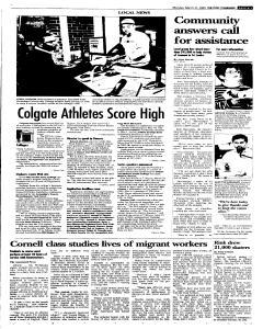 Syracuse Post Standard, March 21, 2005, Page 13