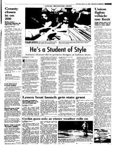 Syracuse Post Standard, March 21, 2005, Page 15