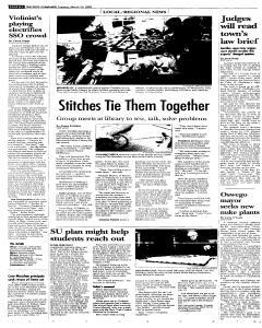 Syracuse Post Standard, March 22, 2005, Page 14