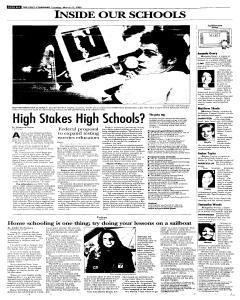 Syracuse Post Standard, March 22, 2005, Page 18