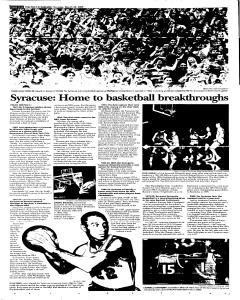 Syracuse Post Standard, March 24, 2005, Page 30