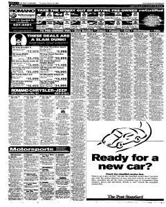 Syracuse Post Standard, March 24, 2005, Page 42