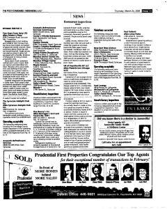 Syracuse Post Standard, March 24, 2005, Page 87