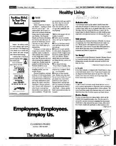 Syracuse Post Standard, March 24, 2005, Page 102
