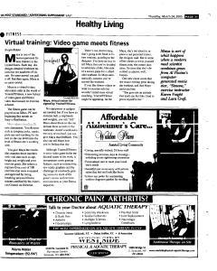 Syracuse Post Standard, March 24, 2005, Page 107