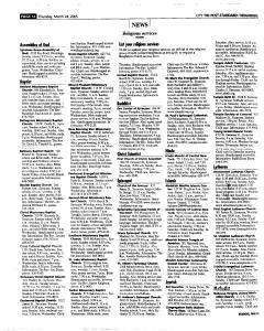 Syracuse Post Standard, March 24, 2005, Page 258