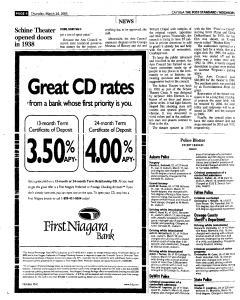 Syracuse Post Standard, March 24, 2005, Page 410