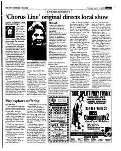 Syracuse Post Standard, March 24, 2005, Page 53