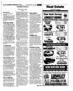 Syracuse Post Standard, March 24, 2005, Page 513