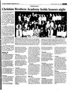Syracuse Post Standard, March 24, 2005, Page 337