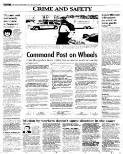 Syracuse Post Standard, March 25, 2005, Page 18