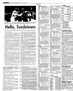 Syracuse Post Standard, March 25, 2005, Page 34