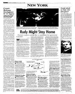 Syracuse Post Standard, March 25, 2005, Page 60