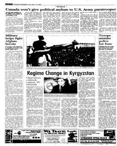Syracuse Post Standard, March 25, 2005, Page 74