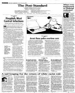 Syracuse Post Standard, March 25, 2005, Page 80
