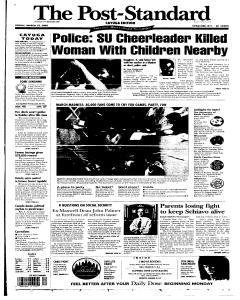 Syracuse Post Standard, March 25, 2005, Page 53