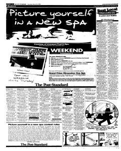Syracuse Post Standard, March 26, 2005, Page 59