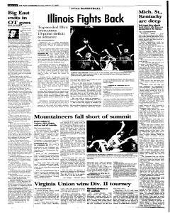 Syracuse Post Standard, March 27, 2005, Page 40
