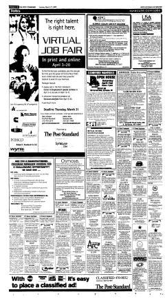 Syracuse Post Standard, March 27, 2005, Page 64