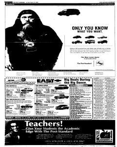 Syracuse Post Standard, March 27, 2005, Page 81