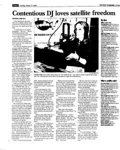 Syracuse Post Standard, March 27, 2005, Page 117