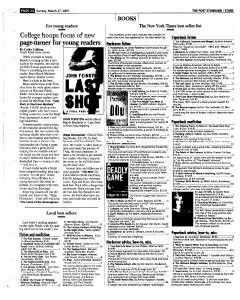 Syracuse Post Standard, March 27, 2005, Page 134