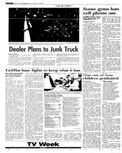 Syracuse Post Standard, March 27, 2005, Page 210