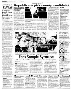 Syracuse Post Standard, March 27, 2005, Page 240