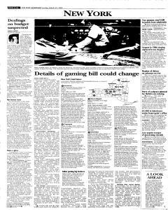 Syracuse Post Standard, March 27, 2005, Page 252
