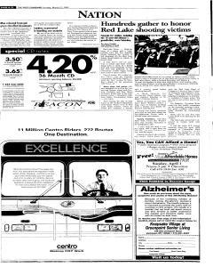 Syracuse Post Standard, March 27, 2005, Page 254
