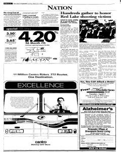 Syracuse Post Standard, March 27, 2005, Page 280