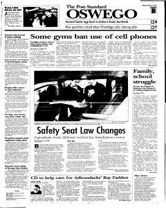 Syracuse Post Standard, March 27, 2005, Page 287