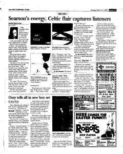 Syracuse Post Standard, March 27, 2005, Page 131