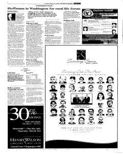 Syracuse Post Standard, March 27, 2005, Page 225