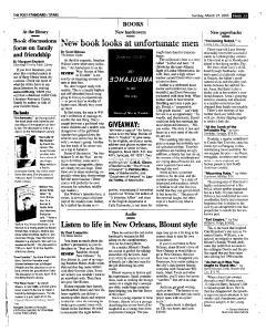 Syracuse Post Standard, March 27, 2005, Page 133