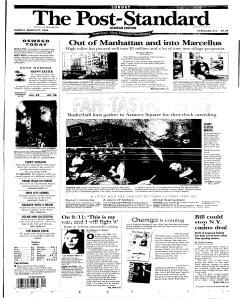 Syracuse Post Standard, March 27, 2005, Page 269
