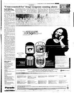 Syracuse Post Standard, March 27, 2005, Page 249