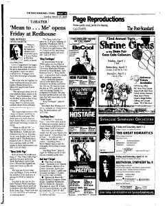 Syracuse Post Standard, March 27, 2005, Page 126
