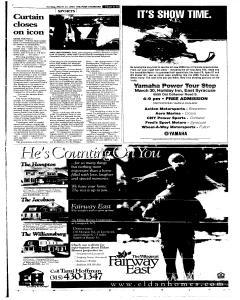 Syracuse Post Standard, March 27, 2005, Page 49